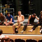 Kyle Abraham, Alejandro Cerrudo, Joshua Beamish, Brian Brooks, and Wendy Whelan. Photo by Emil J. Kang.