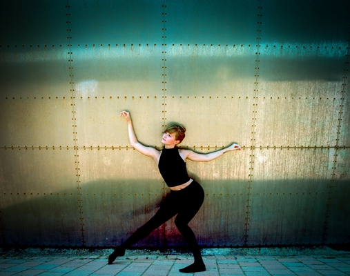 Lydia Zimmer is one of the choreographers to be presented by CRAWL. Photo by Michael Seamans.