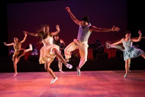 Dorrance Dance with Toshi Reagon and BIGLovely in The Blues Project. Photo © Christopher Duggan.