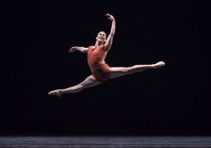 William Forsythe's The Vertiginous Thrill of Exactitude-Photo by Angela Sterling